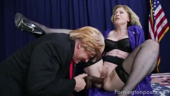 Hillary Clinton Fucks Donald Trump With A Strap-On After Presidential Debate