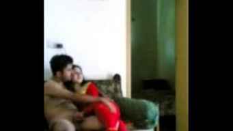 Naked arab teaches young wife to jerk off and try to fuck