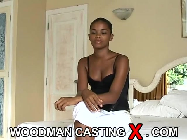 Ebony Backroom Casting Couch