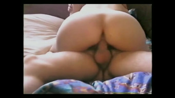 Two clients fuck Russian prostitute Angelina in two dicks