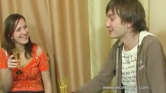 Father fucks daughter, and son fucks mother - Russian seed incest