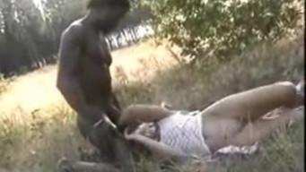 Whore wife gets fucked by black friend on safari while her husband takes it on camera